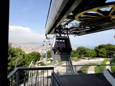 The funicular to the Castell #barcelona