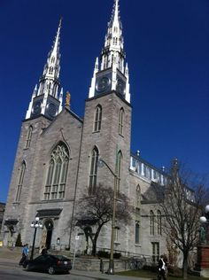 The gorgeous Notre Dame Cathedral Ottawa Tourism, Cathedral Basilica, Canada, Beavers, The Province, Cathedrals, Ontario, Barcelona Cathedral, Notre Dame