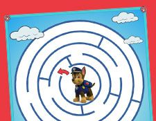 Paw Patrol Free Maze Activities