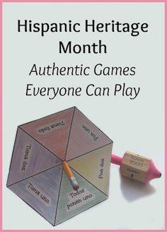 Hispanic Heritage Month Games - Spanish Playground