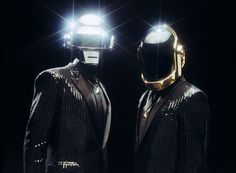 Daft Punk. Real instruments. That's why.