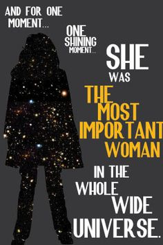 Donna Noble. You are important.