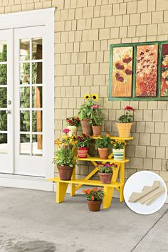 Outside Plants, Porch Plants, Outdoor Plants, Outdoor Plant Stands, House Plants, Porch Garden, Veg Garden, Garden Fun, Garden Crafts