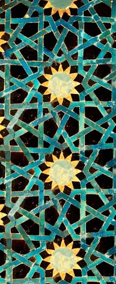 Wall tiles can either make or break a room and choosing the perfect design for your room is of the utmost importance. The last thing you want to do is to drown out beautiful pieces in your interior… Tile Patterns, Pattern Art, Textures Patterns, Islamic Art Pattern, Arabic Pattern, Geometric Art, Geometric Designs, Motifs Islamiques, Motif Oriental