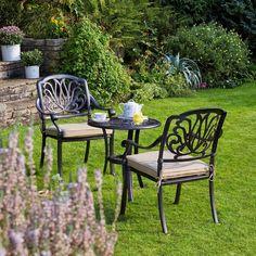 Mortimer Bistro Garden Furniture Set   Wyevale Garden Centres