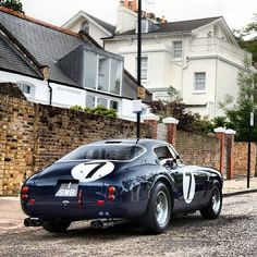 tokyo-bleep. Stirling Moss drove this one. It's owned by Clive.