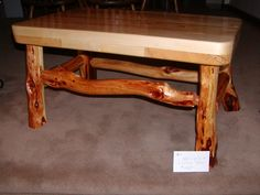 Another one of many coffee tables we make.