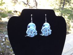 Octopus Earrings by ConstantMindJewelry on #Etsy, $13.99