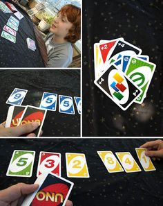 Math games with UNO cards
