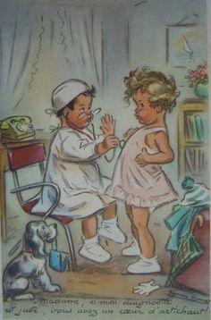 """Germaine Bouret """" Madame, si mon diagnostic est juste, vous avez un coeur d'artichaut ! """""""