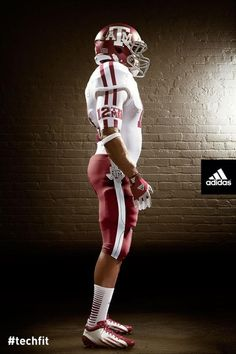 adidas and Texas A&M University today unveiled new Lone Star TECHFIT football uniforms for the Aggies' debut season in the Southeastern Conference. Inspired by the team's jerseys from the A&m Football, College Football Uniforms, College Uniform, College Fun, Football Season, University Of Tennessee, Spirit Wear, Texas A&m, Tennessee Titans