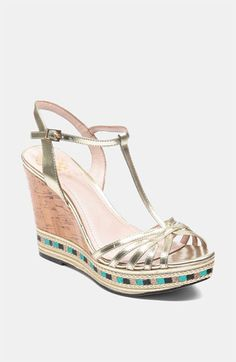 Vince Camuto Tasha Sandal available at Nordstrom/ love in silver!!