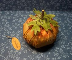 SHARING CREATIVITY and COMPANY: Coffee Filter Vintage Pumpkin