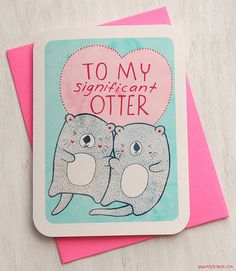 My Significant Otter :)