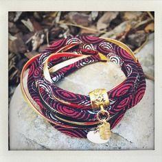 Bracelet cordon japonais double tour noir, rouge, blanc et doree Bracelet Cordon, Tour, Etsy, Vintage, Boutique, Bracelets, Leather, Jewelry, Fashion