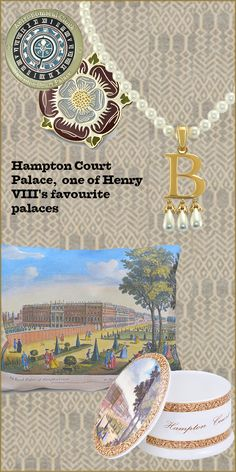 Hampton Court Palace was one of Henry VIII's favourite palaces, however the elegance and romance of the palace owes much to the baroque buildings built by William III and Mary II. These products are all inspired by Hampton Court Palace.