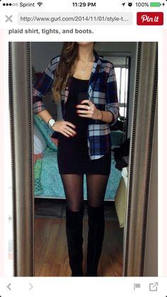 Plaid flannel