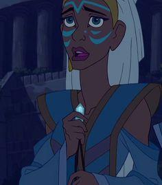 Kidagakash Nedakh is a character in Atlantis: The Lost Empire who is Princess of… Kida Disney, Princesas Disney Dark, Disney Love, Disney Art, Disney Princesses, Disney And Dreamworks, Disney Pixar, Milo And Kida, Kida Atlantis