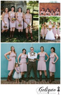 Gelique convertible bridesmaid dresses  http://www.geliqueonline.com/