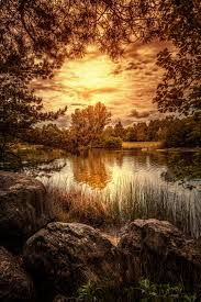 Irchelpark by Chris Frank All Nature, Nature Images, Nature Pictures, Amazing Nature, Beautiful Sunset, Beautiful World, Beautiful Places, Beautiful Pictures, Reflection Pictures