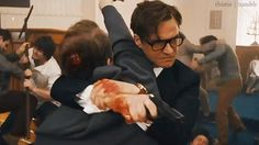 'Kingsman: The Secret Service' Well, Mark me down as scared and horny.