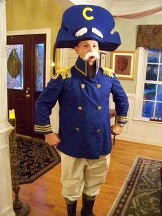 Homemade Captain Crunch Halloween Costume | Halloween costumes ...