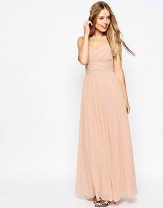 ASOS | ASOS WEDDING Ruched Panel Maxi Dress $120.92