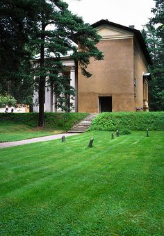 Woodland Cemetery - Chapel of the Resurrection - Sigurd Lewerentz, Architect