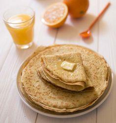 Crêpes au jus d'orange - les meilleures recettes de cuisine d'Ôdélices