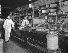 Florida Memory - Inside Lutterloh's store - Cedar Key, Florida 1900s - Main Street, corner of 2nd and C streets - J. B. Lutterloh, owner in front; Butler King to his right. - The Cedar Key Historical Society in 1979 opened its museum in the Lutterloh building