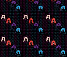 Simply Outrageous  fabric by gnarllymamadesigns on Spoonflower - custom fabric