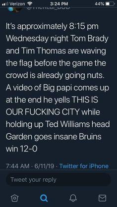 Tim Thomas, Boston Bruins, Tom Brady
