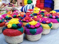 Cestería y otras formas de artesanía mexicana #artesaniasmexico
