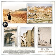 spain  (template from Fade Out album No.02, Lynn Grieveson, Designer Digitals)