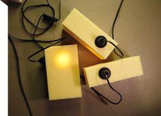 Sarah Böttger's Mr Mellow sponge lamps