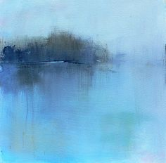 Contemporary abstract landscape paintings by New England painter Jacquie Gouveia. Abstract Landscape Painting, Landscape Prints, Contemporary Landscape, Landscape Art, Landscape Paintings, Abstract Art, Art Paintings, Painting Art, Contemporary Artists
