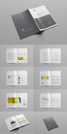 Company Proposal Brochure Template