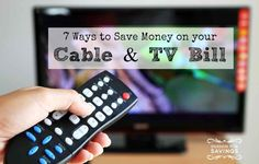 How to Save Money on Cable TV! Get these 7 Money Saving Ideas to help your Budget!