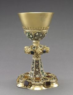 Chalice | Cleveland Museum of Art 15th century,Budapest Silver and feligree enamel.