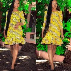 Style Inspiration: Latest Ankara Styles, African print fashion, Ankara fall fashion , African Dress, Custom made Ankara dress, Homecoming dress, Winter fashion, African wedding guest, Kitenge dress Melanin Popping, tribal clothing, Prom Dress,Ankara Dress