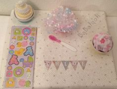 Magnetic Bunting with names