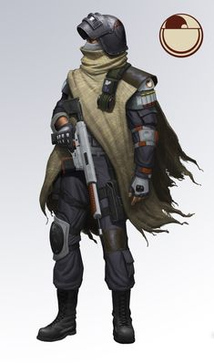 For Mitch by sir--render Character Concept, Character Art, Tableau Star Wars, Star Wars Rebellen, Science Fiction, Futuristic Armour, Cyberpunk Character, Star Wars Concept Art, Sci Fi Armor