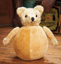 """A Rolly-Dolly Mohair Bear, 10"""", c1920s."""