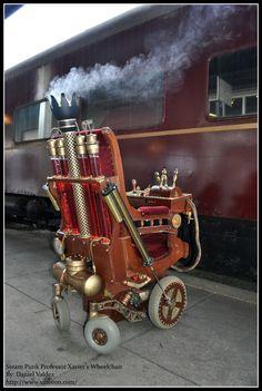 antique wheelchair | Steampunk Steampunk Wheelchair Project Details