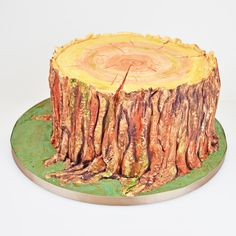 For our sugarpaste ombre tree trunk cake tutorial, please visit  http://www.craftcompany.co.uk/sugarpaste-ombre-tree-trunk-cake.html