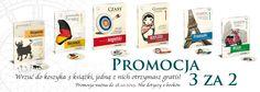 Języki obce, promocja trzy książki w cenie dwóch: angielski, hiszpański, niemiecki, francuski, rosyjski i włoski