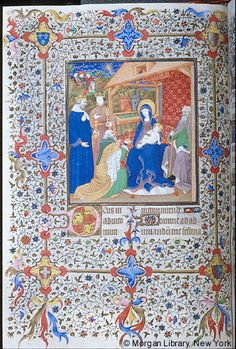 Book of Hours, MS M.1004 fol. 47v - Images from Medieval and Renaissance Manuscripts - The Morgan Library & Museum