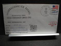 USCGC EVERGREEN WAGO-295 Naval Cover 1981 INTERNATIONAL ICE PATROL POLAR Cachet