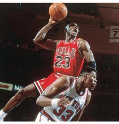 #michaeljordan #mj 1991 Playoffs  On 11-14-13 Jordan says this is his all time favorite dunk.   #patrickewing