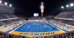 Happy Independence Day #BoiseState!  Have fun be safe - #GoBroncos